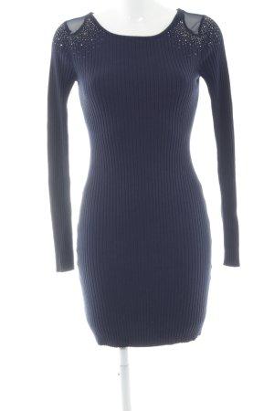 Melrose Strickkleid dunkelblau Elegant