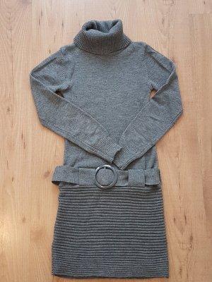 Melrose Vestido tejido gris