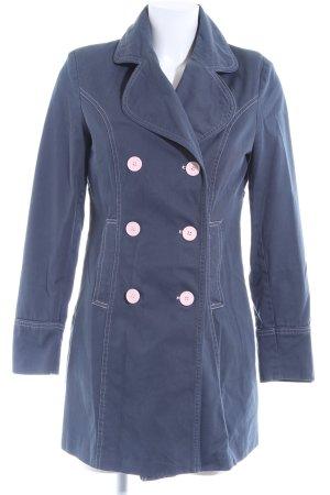 Melrose Übergangsjacke graublau-rosé Casual-Look