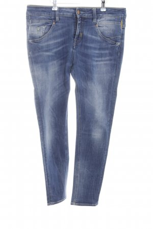 Meltin Pot 7/8-jeans blauw casual uitstraling