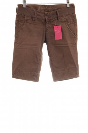 Meltin Pot Caprihose braun Casual-Look