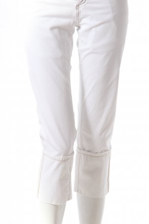 Meltin Pot Dreiviertel-Jeans weiß