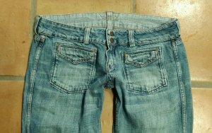 "Meltin Pot ""Elian"" - Hüft- Jeans - W30/L36 - Wendejeans -"