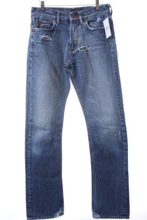 Meltin Pot High Waist Jeans hellblau-wollweiß Casual-Look