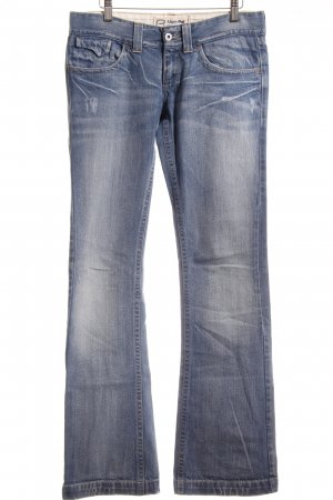 Meltin Pot Hüftjeans blau Casual-Look