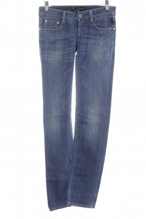 Meltin Pot Skinny Jeans blau Jeans-Optik