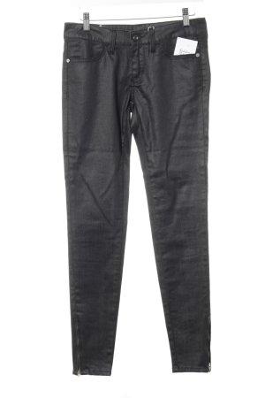 Meltin Pot Skinny Jeans dunkelgrau meliert Casual-Look