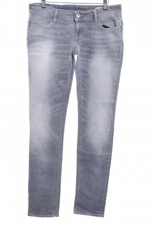 Meltin Pot Skinny Jeans grau Casual-Look