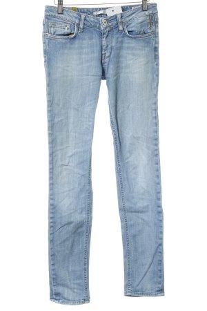Meltin Pot Skinny Jeans himmelblau meliert Casual-Look