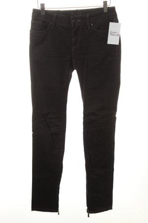 Meltin Pot Skinny Jeans schwarz schlichter Stil