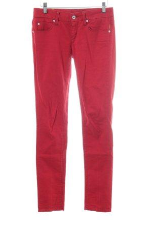 Meltin Pot Skinny Jeans ziegelrot Casual-Look