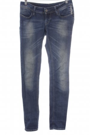 Meltin Pot Slim Jeans blau Washed-Optik
