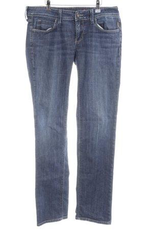 Meltin Pot Slim Jeans dunkelblau Jeans-Optik
