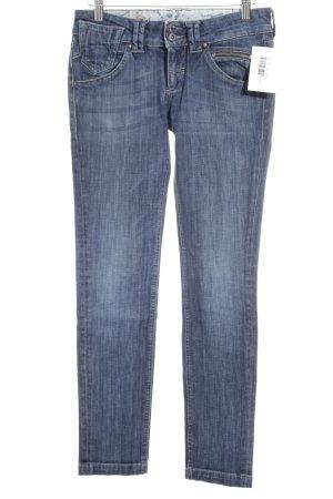 Meltin Pot Slim Jeans dunkelblau Street-Fashion-Look