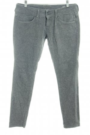 Meltin Pot Stoffhose grau meliert Casual-Look
