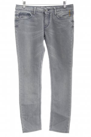 Meltin Pot Straight-Leg Jeans grau Casual-Look