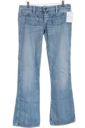 Meltin Pot Straight-Leg Jeans hellblau Casual-Look