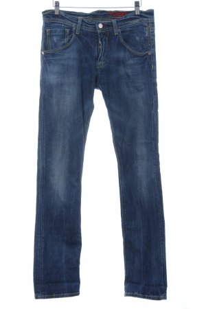 Meltin Pot Straight-Leg Jeans stahlblau Casual-Look