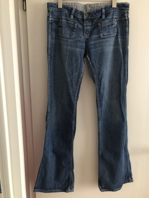 the latest a0983 22383 Meltin Pot Low Rise Jeans blue-steel blue