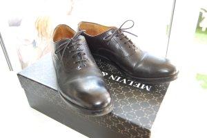 Melvin & hamilton Derby noir cuir
