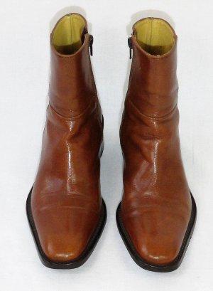MELVIN & HAMILTON Ankle Boots/Linie Karim & Olivier Choukair /Braun/100%Leder/ Hervorragend!