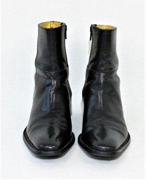 MELVIN & HAMILTON Ankle Boots/Linie Karim & Olivier Choukair /Schwarz/100%Leder/ Hervorragend!
