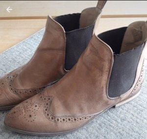 Melvin & hamilton Chelsea Boots brown-dark blue