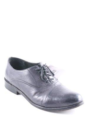 Melvin & hamilton Zapatos Oxford con puntera negro look casual