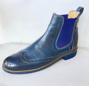 Melvin & hamilton Botines Chelsea azul Cuero