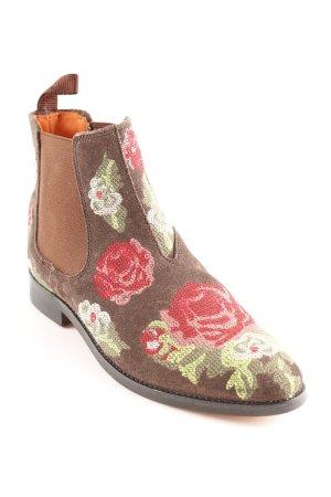 Melvin & hamilton Chelsea Boots Blumenmuster Romantik-Look