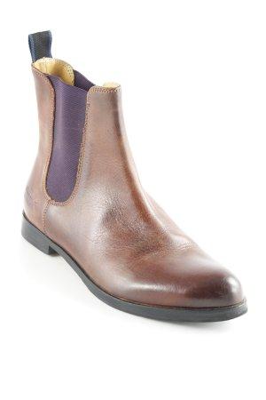 Melvin & hamilton Chelsea Boots cognac Casual-Look
