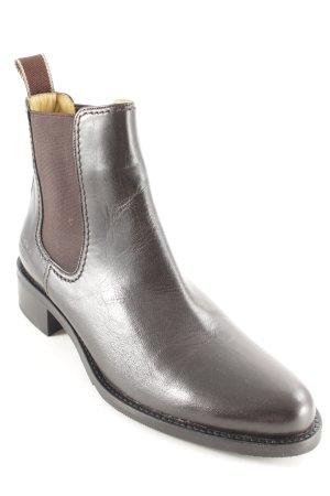 Melvin & hamilton Chelsea laarzen donkerbruin Britse uitstraling