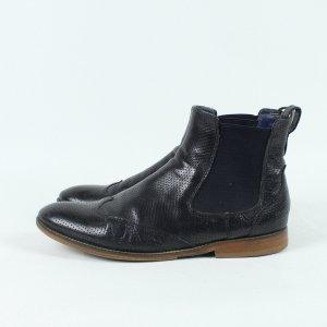 Melvin & hamilton Chelsea Boot noir-brun cuir