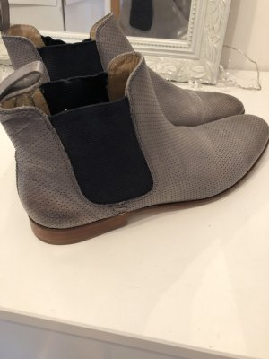 Melvin & hamilton Chelsea Boots grey leather