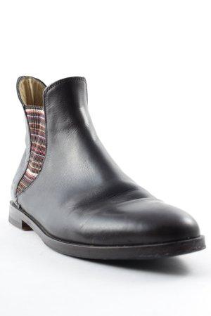 Melvin & hamilton Chelsea Boots striped pattern Brit look