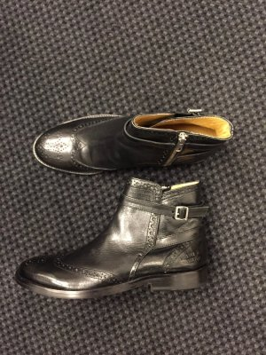 Melvin & hamilton Wingtip Shoes black