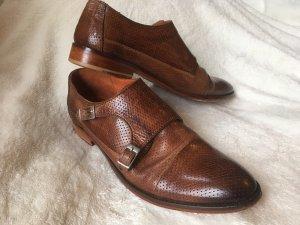 Melvin & hamilton Zapatos Budapest coñac