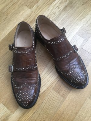 Melvin & hamilton Monks dark brown-brown leather