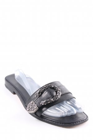 Melvin & hamilton Strapped Sandals black simple style