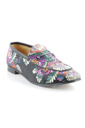 Melvin & hamilton Schlüpfschuhe florales Muster extravaganter Stil