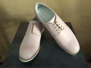 Melvin & hamilton Zapatos brogue rosa Cuero