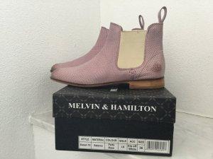 Melvin & hamilton Chelsea Boot mauve-violet