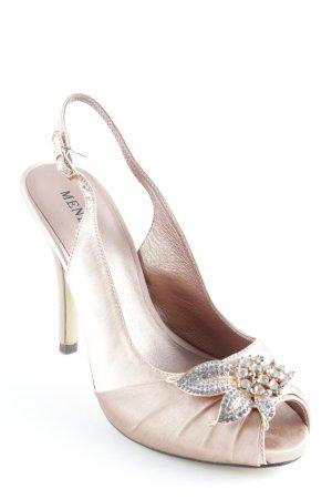 Menbur High Heel Sandal nude elegant