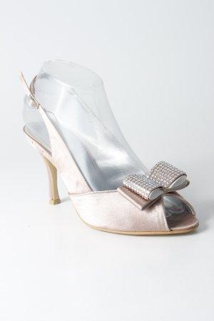 Menbur High Heels rosé-silberfarben Elegant