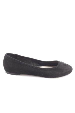 Menbur Patent Leather Ballerinas black casual look