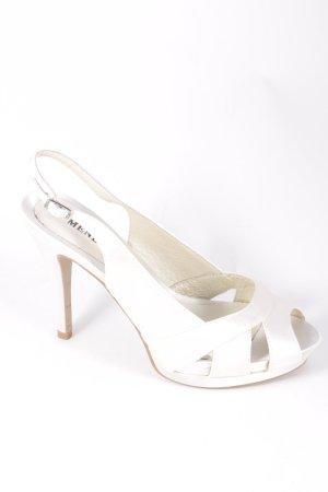 "Menbur Platform High-Heeled Sandal ""Aurora"" cream"