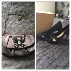 Menbur High-Heeled Sandals black