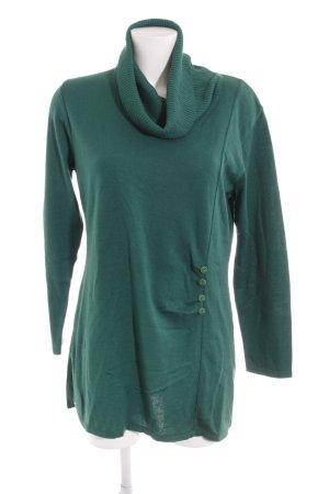 Menke Rollkragenpullover waldgrün schlichter Stil