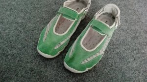 Mephisto Zapatillas con velcro verde