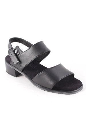 Mephisto Komfort-Sandalen schwarz Casual-Look